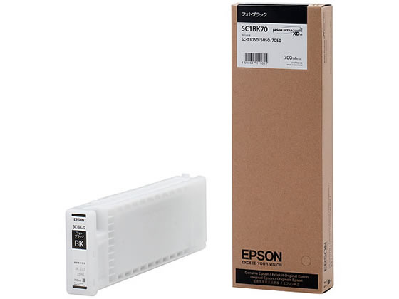 エプソン/インクカートリッジ フォトブラック/SC1BK70