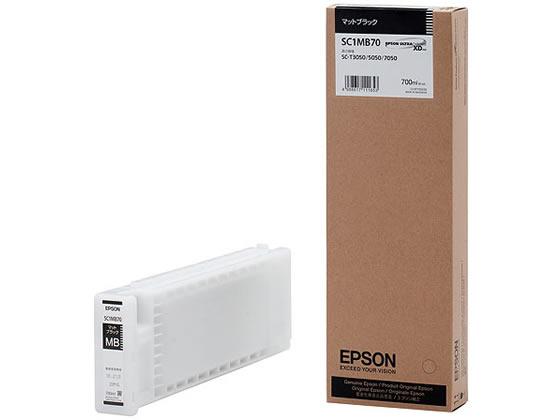 エプソン/インクカートリッジ マットブラック/SC1MB70