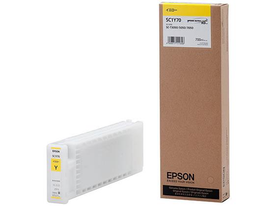 エプソン/インクカートリッジ イエロー/SC1Y70