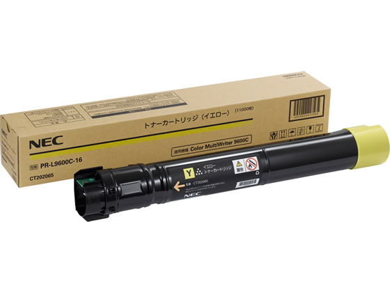 NEC/大容量トナーカートリッジ イエロー/PR-L9600C-16