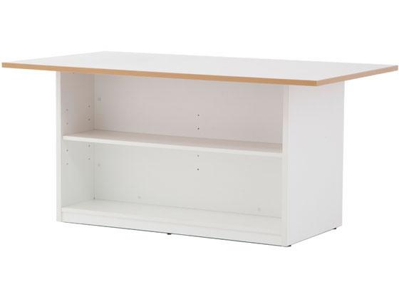 アール・エフ・ヤマカワ/ストレージテーブル W1600×D900 ホワイト
