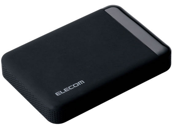 エレコム/ポータブルHDD 500GB セキュリティ対策/ELP-EEN005UBK