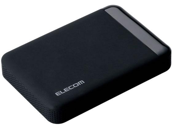 エレコム/ポータブルHDD 2TB セキュリティ対策/ELP-EEN020UBK