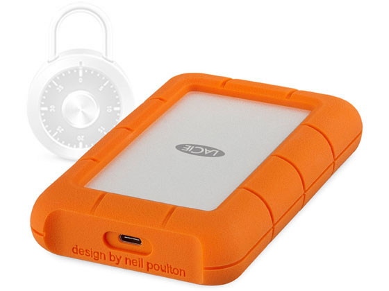 LaCie/Rugged SECURE 2TB/STFR2000403