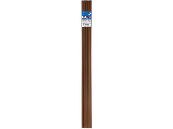 朝日電器/テープ付モール 10P/M-T1110P(BR) 10個セット