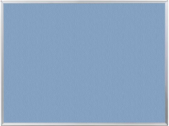 馬印/ワンウェイ掲示板 ブルー 1210×910mm/K34-741