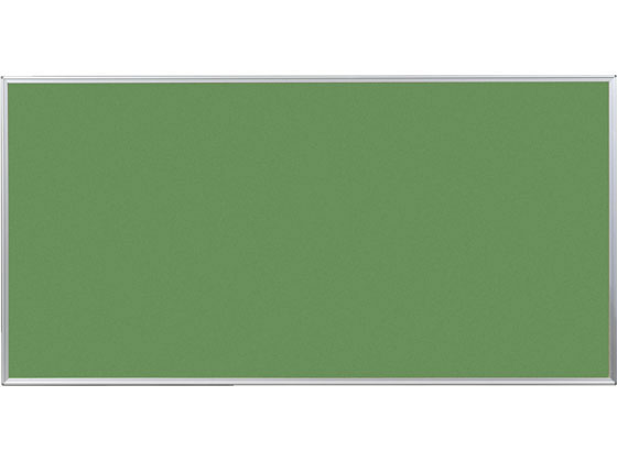 馬印/ツーウェイ掲示板 表面色グリーン 1810×910mm/KB36-910