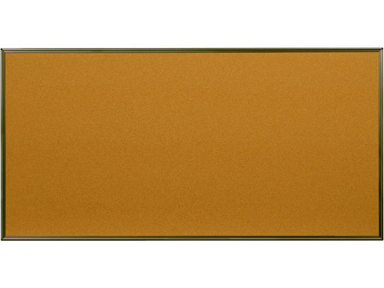 馬印/コルク掲示板 カラーアルミ枠 1810×910mm/KBC36C