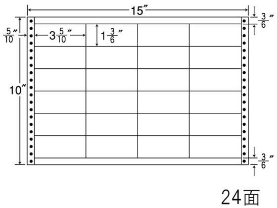 NANA/ナナフォーム 15×10インチ 24面/LB15F