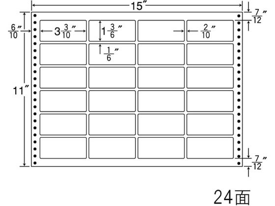 NANA/ナナフォーム 15×11インチ 24面/LX15N