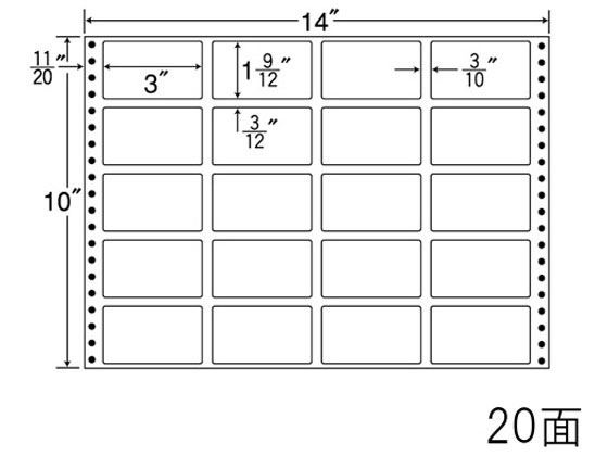 NANA/ナナフォーム 14×10インチ 20面/RT14J