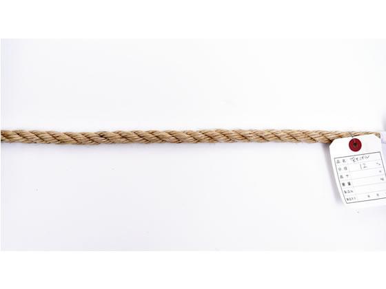 紺屋商事/麻ロープ 12mm×200m/60011187