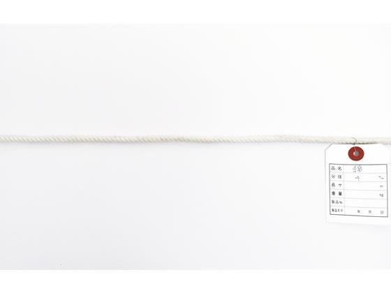 紺屋商事/綿ロープ 4mm×400m/60011257