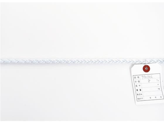 紺屋商事/ナイロンクロスロープ 8mm×200m巻/60011510