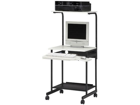 白井産業/パソプリ パソコンデスク アイボリー/PPR-60HIV