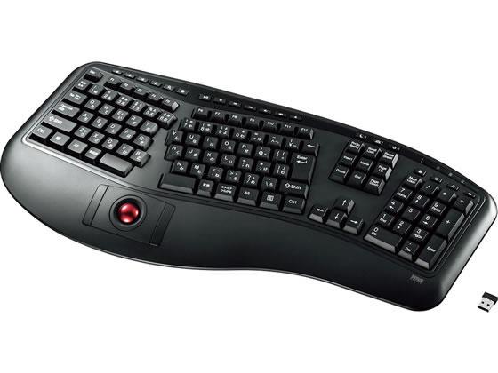 サンワサプライ/エルゴノミクスキーボード/SKB-ERG6BK