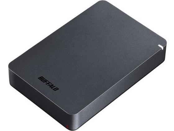 バッファロー/耐衝撃ポータブルHDD 4TBブラック/HD-PGF4.0U3-GBKA