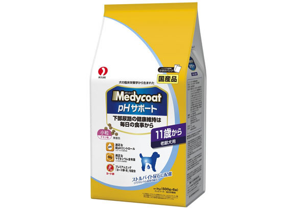 【納期約5日】【税込2500円以上で送料無料】 ペットライン/MC pHサポート 11歳から老齢犬用
