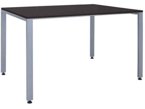カグクロ/ミーティングテーブルTKシャープタイプ W1200×D750ダークブラウン
