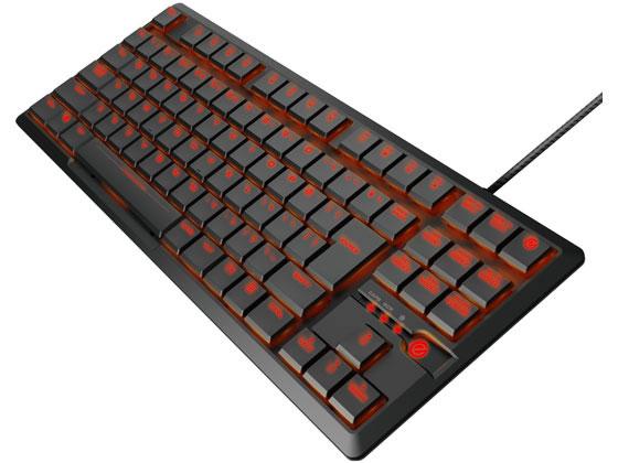 エレコム/ARMA FPSゲーミングキーボード コンパクト/TK-ARMA30BK