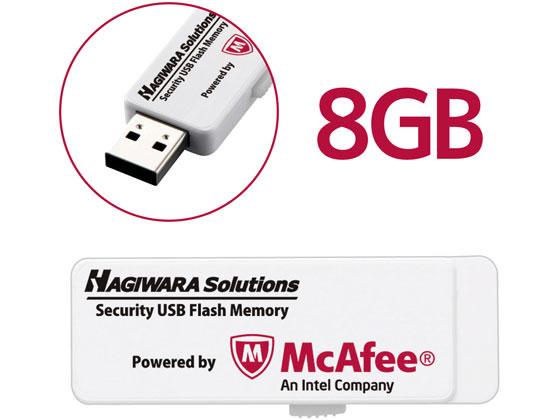 エレコム/USB3.0メモリ McAfeeウィルス対策 8GB/HUD-PUVM308GA1