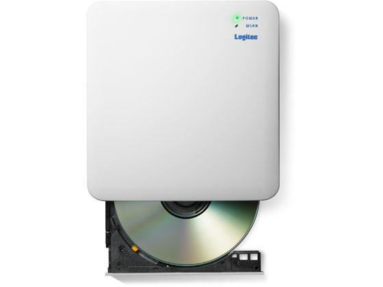 エレコム/5GHz WiFi CD録音ドライブ/LDR-PS5GWU3RWH