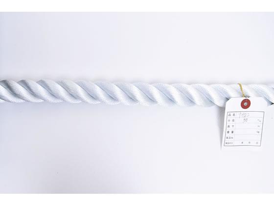 紺屋商事/ナイロンロープ 30mm 10m〈切売〉/60011055