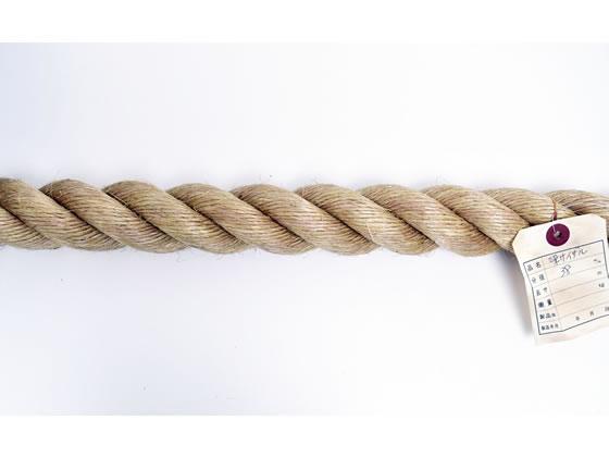 【お取り寄せ】紺屋商事/麻ロープ 38mm 20m〈切売〉/60011177