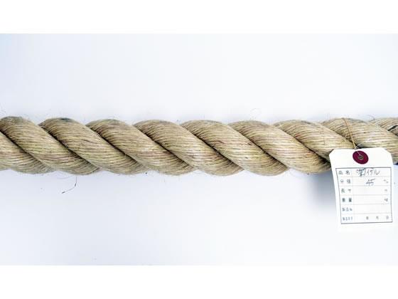 紺屋商事/麻ロープ 45mm 10m〈切売〉/60011178