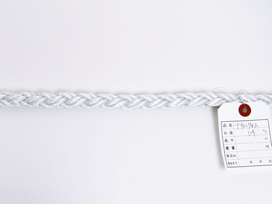 紺屋商事/ナイロンクロスロープ 14mm 20m〈切売〉/60011504