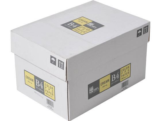 新作 人気 休み 送料無料 スーパーセール期間中ポイント10倍 APPJ カラーコピー用紙 CPY003 クリーム 500枚×5冊 B4