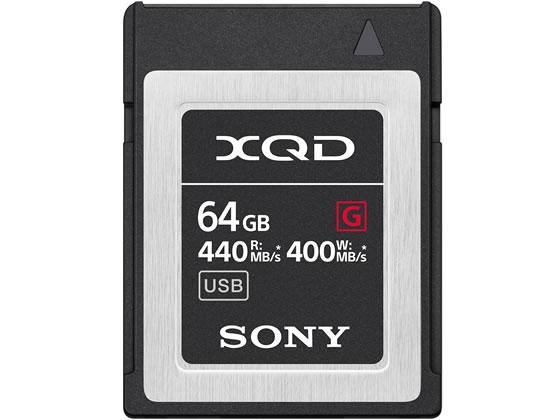 ソニー/XQDメモリーカード64GB/QD-G64F