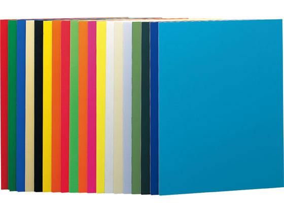 プラチナ/カラーパネル A2判 5mm厚 605×455 青(両面塗装)60枚
