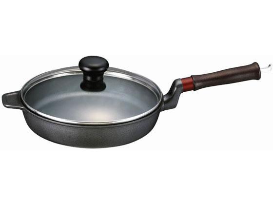 文化軽金属鋳造/味わい鍋 フライパン24cm ガス用