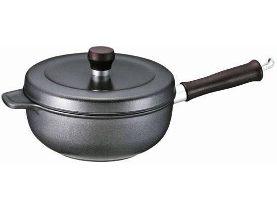 文化軽金属鋳造/味わい鍋 片手20cm IH用