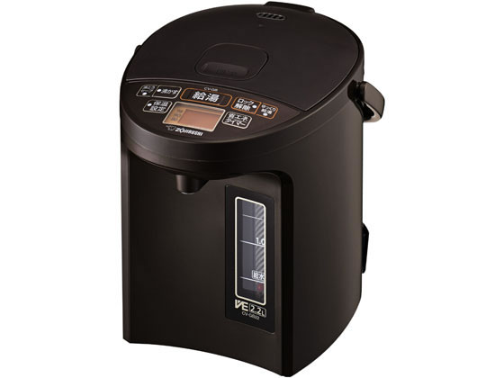 象印/マイコン沸とうVE電気まほうびん 優湯生/CV-GB22 TA