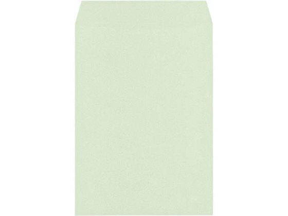 キングコーポレーション/角2 Hiソフトカラー グリーン スミ貼 エルコン付 500枚