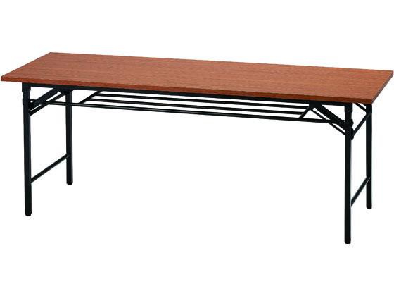 イノウエ/折りたたみテーブル W1800×D600 チーク/UMT-1860T