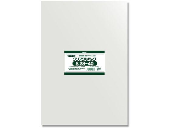 ヘイコー/クリスタルパックS 28-40 100枚×10袋