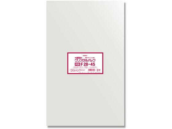ヘイコー/クリスタルパックF 28-45 100枚×10袋