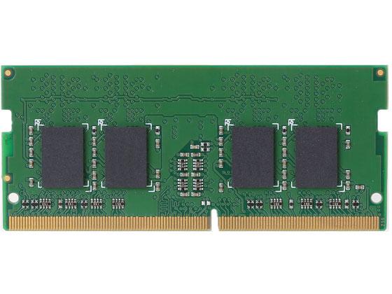 エレコム/メモリモジュール DDR4-2400 260pin 4GB/EW2400-N4G/RO