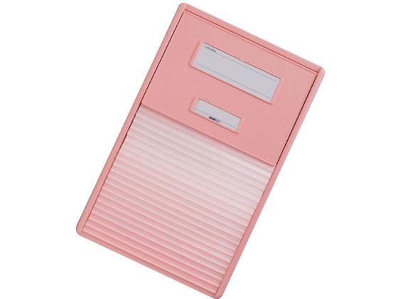 【お取り寄せ】リヒトラブ/カラーカードインデックス A4 21枚 ピンク/HC112C-4