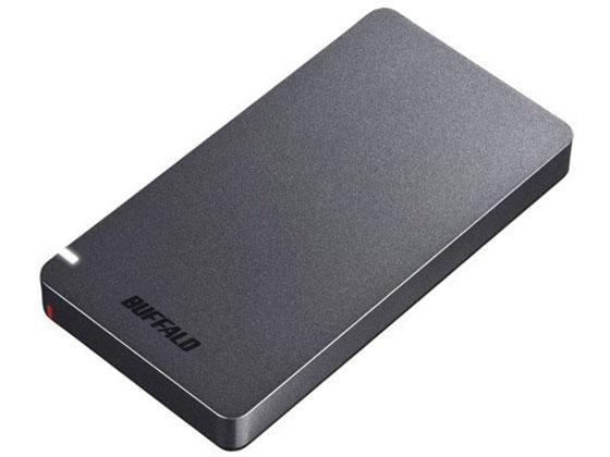 バッファロー/USB3.2ポータブルSSD 480GBブラック/SSD-PGM480U3-B