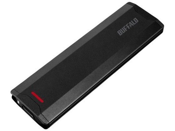 バッファロー/USB3.1ポータブルSSD 1TB ブラック/SSD-PH1.0U3-BA