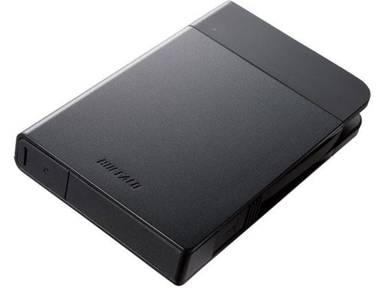 バッファロー/USB3.0ポータブルSSD480GBブラック/SSD-PZN480U3-BK
