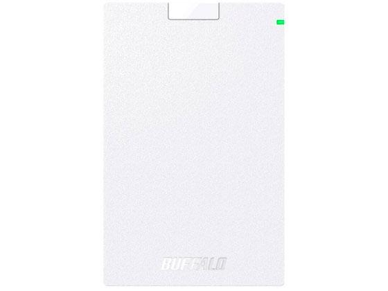 バッファロー/USB3.1 ポータブルHDD ホワイト 2TB/HD-PCG2.0U3-GWA