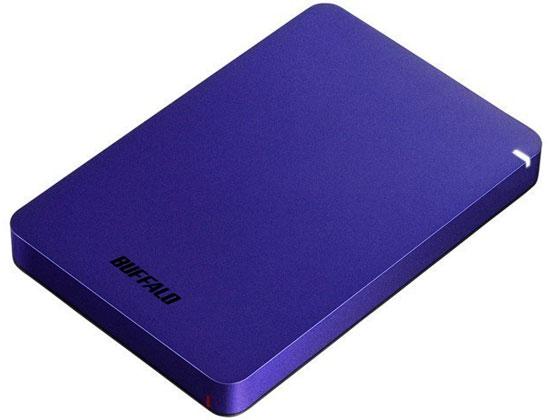 バッファロー/USB3.1ポータブルHDD 1TB ブルー/HD-PGF1.0U3-BLA