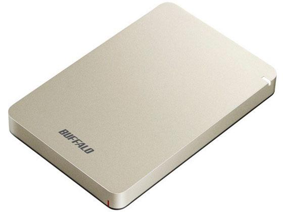 バッファロー/USB3.1ポータブルHDD1TBゴールド/HD-PGF1.0U3-GLA