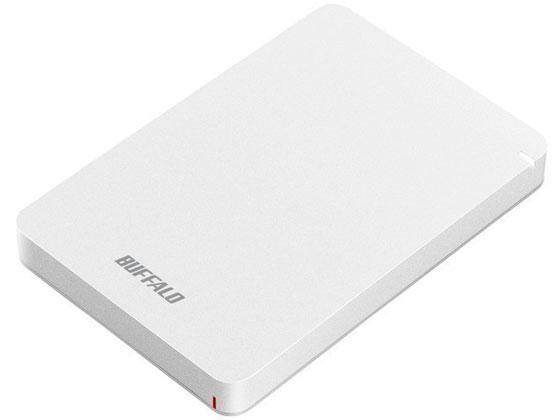 バッファロー/USB3.1ポータブルHDD 1TB ホワイト/HD-PGF1.0U3-WHA