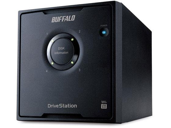 バッファロー/ドライブステーションHDD 4ドライブ8TB/HD-QL8TU3/R5J